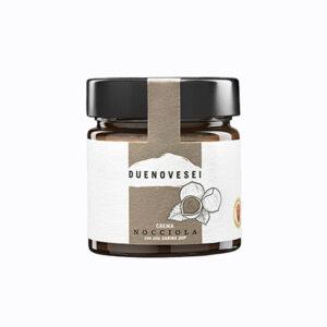 crema spalmabile alla nocciola con olio dop sabina