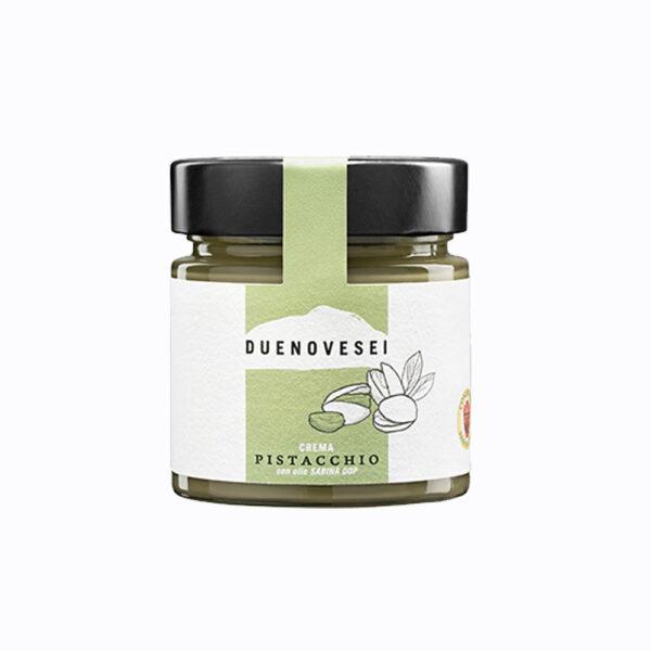 crema spalmabile al pistacchio con olio dop sabina